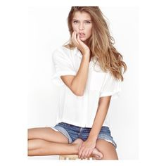 Elite Model Management - ❤ liked on Polyvore featuring nina agdal, pictures, girls, models and nina