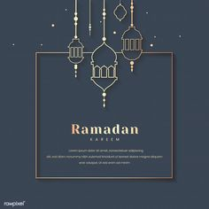Beautiful ramadan kareem greeting card design with mandala art Vector Eid Mubarak Banner, Eid Mubarak Greeting Cards, Ramadan Background, Festival Background, Ramadan Karim, Cherry Blossom Background, Arabic Pattern, Islamic Patterns, Floral Wedding Invitations