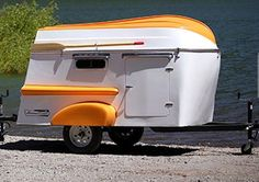 teardrop trailer galley designs | Tiny Yellow Teardrop: Featured Teardrop Trailer: Vistabule ...