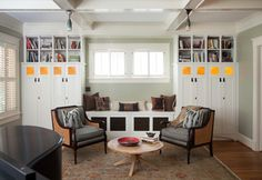 Arts & Crafts remodel - eclectic - living room - atlanta - by Copper Sky Renovations