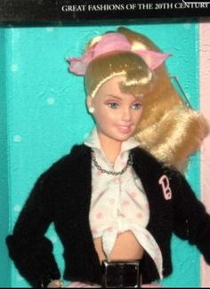 2000 BARBIE Doll NIFTY 50'S GREAT FASHIONS of the 20TH CENTURY Collectors Ed.