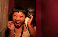 These Reactions To Being Caught In A Haunted Photo Booth Are Almost Too Hilarious.