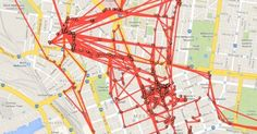 Google Maps Has Been Tracking Your Every Move, and There's a Website to Prove It