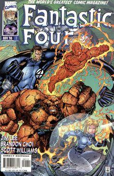 Fantastic Four vol 2 #1