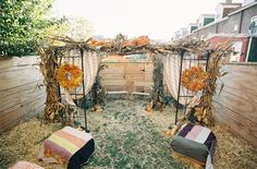 Boho Back Garden Vintage Wedding