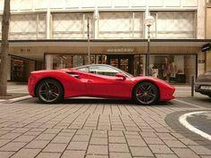 "804 Likes, 2 Comments - @f430addict on Instagram: ""Sent in by @batu.carspotts.1999 -  Ferrari 488  Looks great in Red . . #ferrari #ferrarie #488…"""
