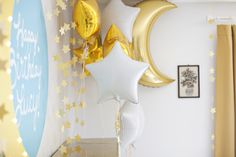 Moon and Stars Birthday Party | A Beautiful Mess | Bloglovin'