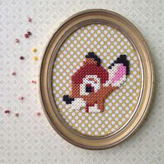 Bambi hama beads by amigurama