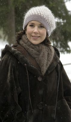Crown Princess Mary of Denmark visits Bygdøy as part of the celebration of the 70th birthday of King Harald of Norway on February 24, 2007