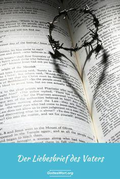 Dieser Liebesbrief kommt von der Bibel. Es ist an jedes Kind Gottes geschrieben. Schaue es an. Lese es. Gott, dein Vater, schreibt es. http://www.gottes-wort.com/liebesbrief.html
