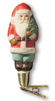 Mini American Santa (clip) from Vaillancourt Folk Art