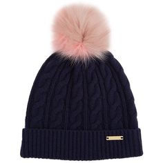 Burberry Shoes  amp  Accessories Wool-Cashmere Pom Pom Beanie ( 365) found  on d73a52054c56