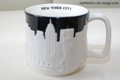 Melbourne, Sydney, Beijing China, Brunei, Starbucks City Mugs, Brisbane Australia, New City, York, Tableware