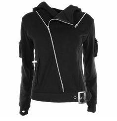 Attitude Clothing - Alternative, Gothic, Punk, Rock Clothing, Shoes, Brands + Accessories - Vixxsin Oblivion Women's Hoody