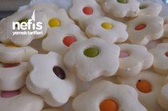 Papatya Kurabiye Tarifi Biscuits, Arabic Food, Beautiful Cakes, How To Make Cake, Diy And Crafts, Food And Drink, Pudding, Cooking Recipes, Cookies