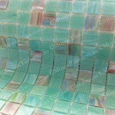MALIBU GREEN GM 20.35, SM 20 & VTC 20.35 BISAZZA MOSAIC GLASS TILES  Another beautiful mix from #bisazza available in small sheets for #mosaicart and in bulk for #commercial & #residential installations  www.mosaictiles.com.au Glass Mosaic Tiles, Mosaic Art, Vtc, Green, Commercial, Beautiful, Home, Ad Home, Homes