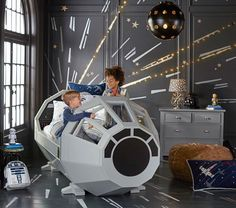 This Star Wars Bed Lets Kids Dream From Inside the Millennium Falcon