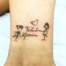 Resultado de imagem para tatuagem+menino+e+menina+palito
