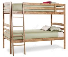Serene Furnishing Brooke Honey Oak Bunk Bed at the best price around with free delivery and price beater service! From Furniture Direct UK Oak Bunk Beds, Wooden Bunk Beds, Furniture Direct, Serenity, Honey, Design, Home Decor, Decoration Home, Wood Bunk Beds
