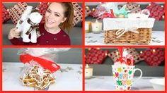 Cute DIY Christmas Gifts!   Tanya Burr - YouTube