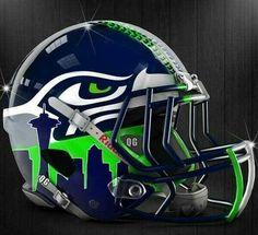 College Football Helmets, Nfl Football Teams, Football Uniforms, Football Memes, Football Stuff, Football Hits, Nfl Jerseys, Football Season, Seahawks Helmet