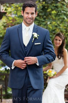Navy Blue Tuxedos On Pinterest Blue Tuxedos Tuxedos And