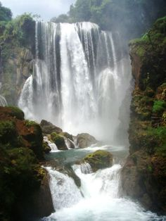 Heading towards the monster, Pulhapanzak Waterfall, Cortes, Honduras Jamaica, Barbados, Santa Lucia, Vacation Places, Vacation Spots, Alberta Canada, Belize, Costa Rica, Panama