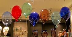 murano glass balloons - piazza san marco, venice, italy Having A Bad Day, Venice Italy, Murano Glass, Cave, Wine Glass, Bliss, Balloons, Beautiful Places, Rainbow