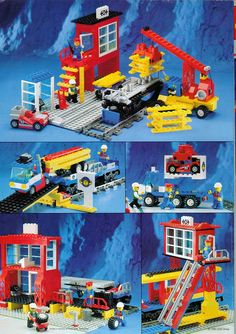 Thousands of complete step-by-step printable older LEGO® instructions for free. Here you can find step by step instructions for most LEGO® sets. Lego Instructions, Step By Step Instructions, Classic Lego, Lego Minifigs, Lego Trains, Vintage Lego, Lego Building, Lego Sets, Legos