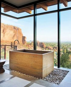 the perfect tub for desert views.