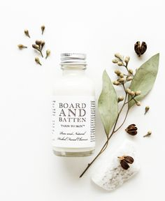 Board and Batten Skincare | Product Photography & Styling by Knotably Studio