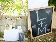 A DIY Backyard Wedding Shower  - The Wedding Chicks