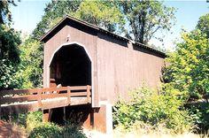 Pass Creek Bridge, Douglas County Oregon