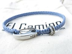 This is where it all starts! A blank El Camino, waiting to be customised with your adventures, memories and travels, past, present or future. Get yours at www.elcaminobracelets.com. #elcaminob #travelling #travel #travelmemories #jewellery #fashion #gapyear #gift #charm #backpacking #bracelet #handmade #xmas #christmas #present #bracelet #england #blue
