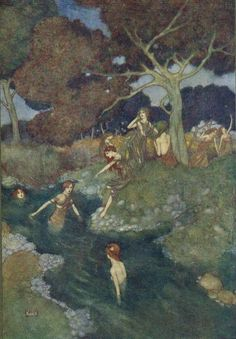 The Tempest. Edmund Dulac