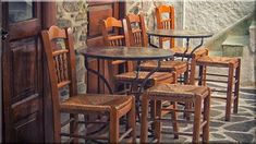 Rusztikus éttermek, panziók, bárpultok - Rusztikus lakások Industrial Loft, Country Chic, Dining Chairs, Shabby Chic, Modern, Furniture, Home Decor, Home Decoration, Trendy Tree