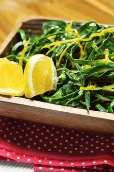 Salada de Couve com Laranja