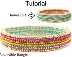 beaded bangles tutorials – Etsy UK
