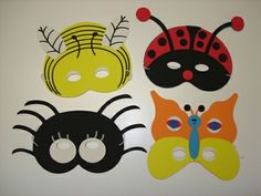 Animal and Insect Masks