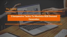 Maximizing B2B demand generation is never a stroll in the park, one must use powerful, effective tools to create quality opportunities on a regular basis.