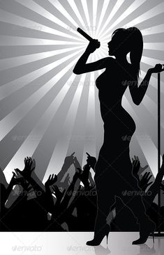 Image Result For Singer Silhouette Music Silhouette 2