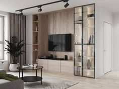 Kitchen Room Design, Home Room Design, House Design, Home Living Room, Interior Design Living Room, Living Room Decor, Living Room Tv Unit Designs, Muebles Living, Home Theater Rooms