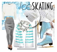 """Ice Skating!"" by luxurydivas ❤ liked on Polyvore featuring women's clothing, women, female, woman, misses and juniors"