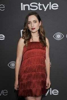 Actress Zoe Lister-Jones attends The 2017 InStyle and Warner Bros. 73rd Annual Golden Globe Awards Post-Party at The Beverly Hilton Hotel on January 8, 2017 in Beverly Hills, California.