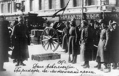 Russian Revolution, 1917 Photograph  - Russian Revolution, 1917 Fine Art Print -This Day in History: Mar 8, 1917: February Revolution begins http://dingeengoete.blogspot.com/