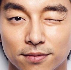 That one wink that makes my day.   Gong Yoo