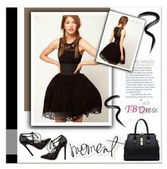 """TB Dress"" by janee-oss ❤ liked on Polyvore featuring Laura Mercier"