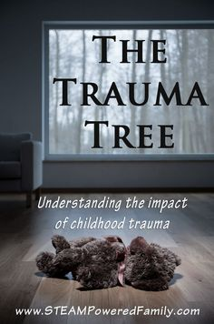 Trauma Tree - Understanding The Impact of Childhood Trauma. Impacts of prolonged cortisol and exposure to trauma. Trauma Therapy, Therapy Tools, Play Therapy, Therapy Activities, Counseling Activities, Therapy Ideas, Bulletins, School Social Work, After Life