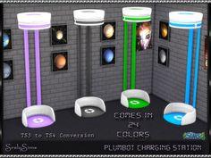 Plumbot Charging Station at SrslySims via Sims 4 Updates