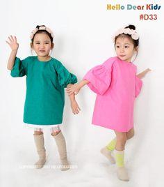 Kid's sewing pattern pdf/Toddler Kids/ Little Girl dress /